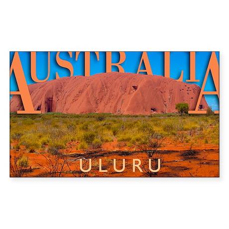 mouse pad_0051_australia uluru Sticker (Rectangle)
