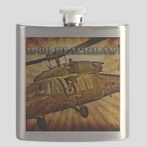 Army Grunge Blackhawk Flask