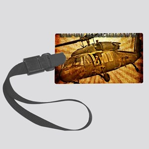 Army Grunge Blackhawk Large Luggage Tag