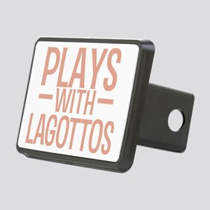 playslagottos_black Rectangular Hitch Cover