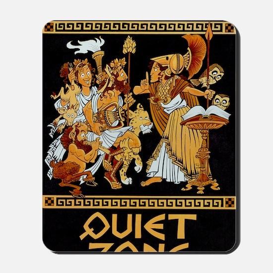 11x17_Quiet Zone print Mousepad