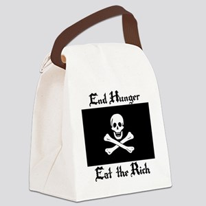 Eat the Rich Canvas Lunch Bag