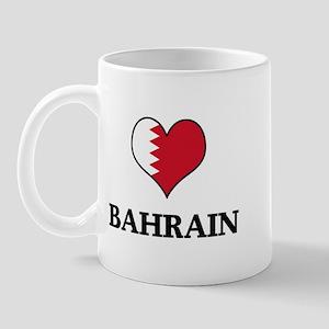 Bahrain heart Mug
