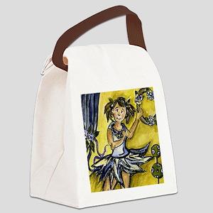 bwsketchescc12055 Canvas Lunch Bag