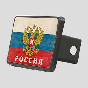 russia13 Rectangular Hitch Cover