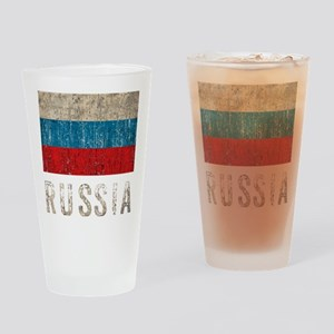 russia14Bk Drinking Glass