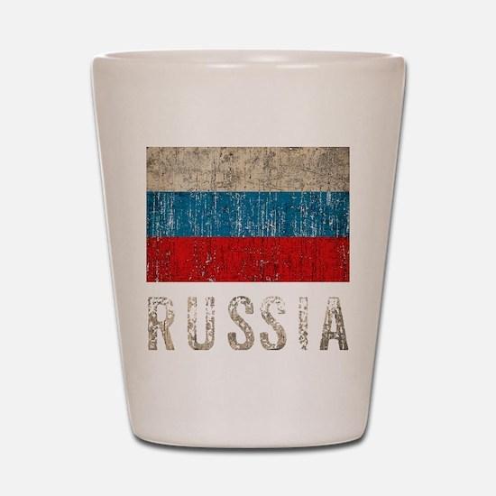 russia14Bk Shot Glass