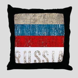 russia14Bk Throw Pillow