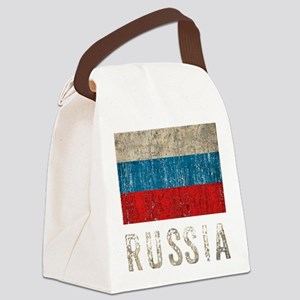 russia14Bk Canvas Lunch Bag