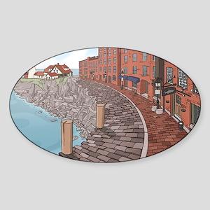 September Sticker (Oval)