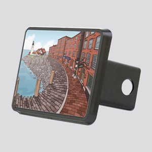 September Rectangular Hitch Cover