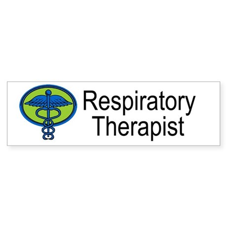 Respiratory Therapist Bumper Sticker