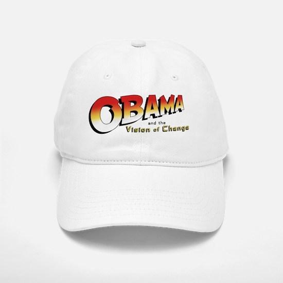 Obama-Jones mug-j Baseball Baseball Cap