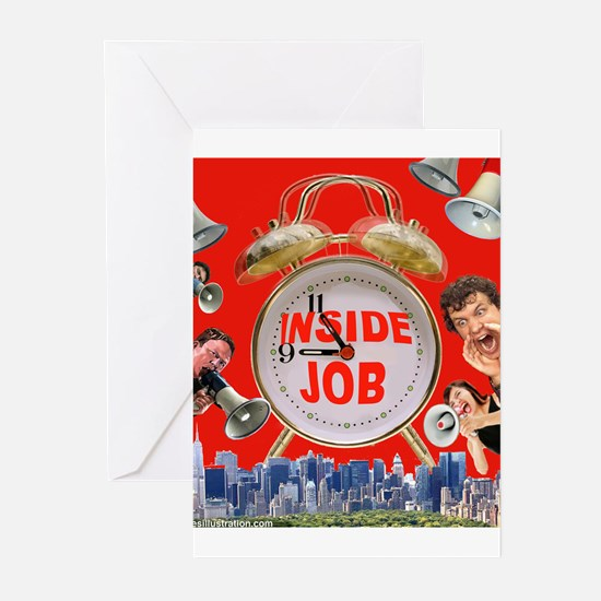 Wake UP! 9/11 inside job Greeting Cards (Package o