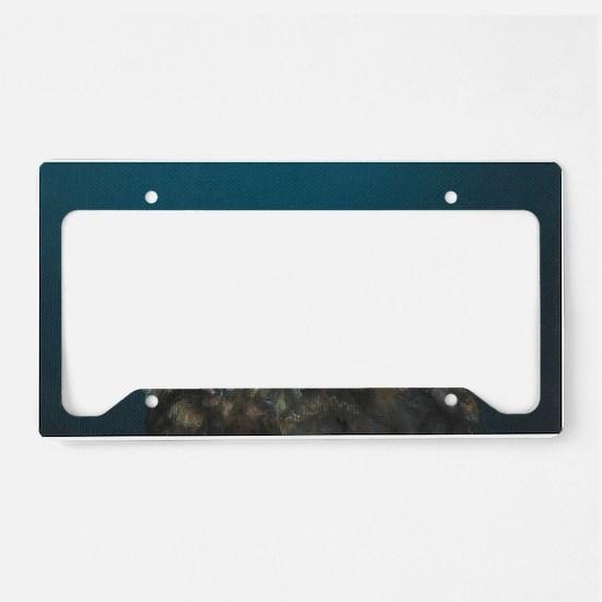 Rise License Plate Holder