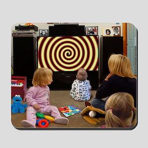 Hypnotic TV Mousepad