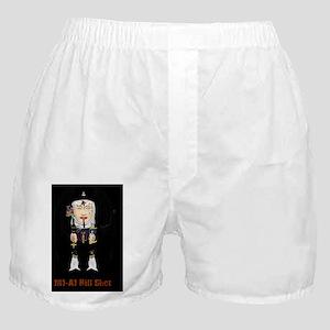 nunzilla design m1-a1 final postcard Boxer Shorts