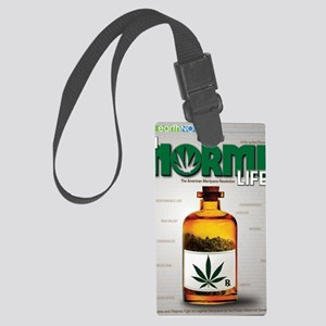 NL DVD cover crop Large Luggage Tag