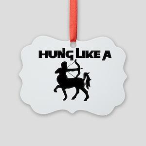 +hungcentaur Picture Ornament