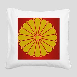 JImS (Laptop Skin) Square Canvas Pillow