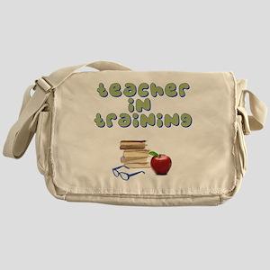 teacher-in-training2 Messenger Bag