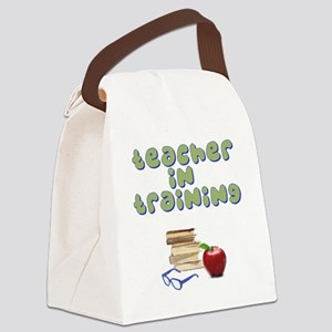 teacher-in-training2 Canvas Lunch Bag