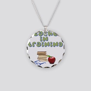 teacher-in-training2 Necklace Circle Charm