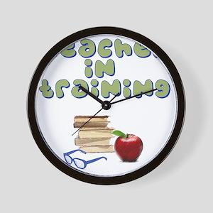 teacher-in-training2 Wall Clock