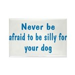 Be Silly Rectangle Magnet (100 pack)