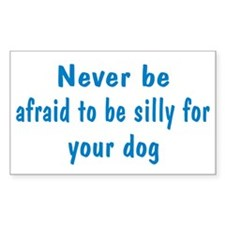 Be Silly Rectangle Sticker