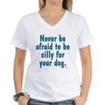 Be Silly Women's V-Neck T-Shirt