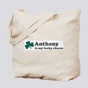 Anthony is my lucky charm Tote Bag