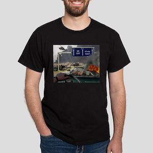 NO Exit from Iraq Dark T-Shirt