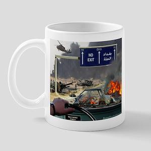 NO Exit from Iraq Mug