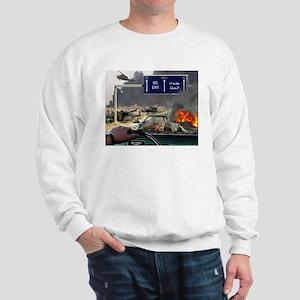 NO Exit from Iraq Sweatshirt