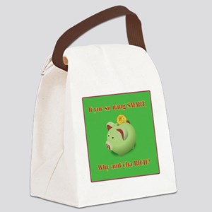 Why Not RichB Canvas Lunch Bag