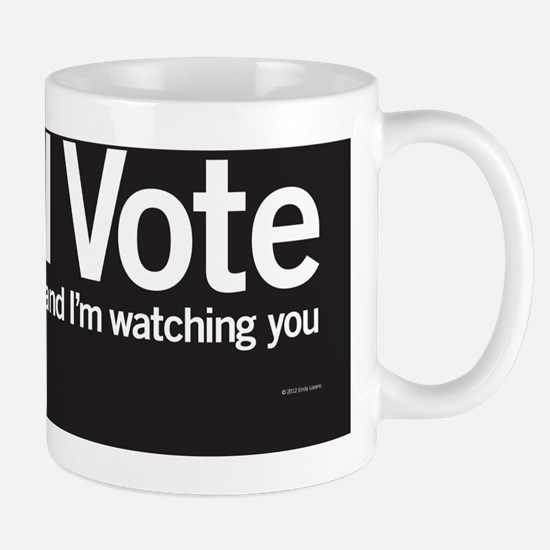 IVote_Notecard_Black Mug