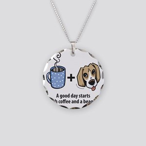 beagle_coffeeforlight Necklace Circle Charm