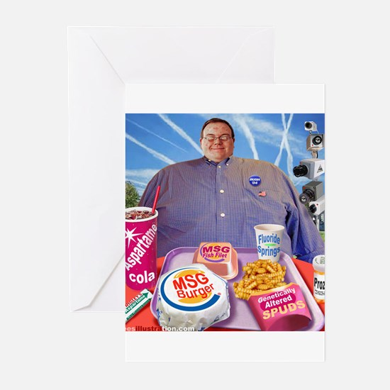 MSG Burger Greeting Cards (Pk of 10)