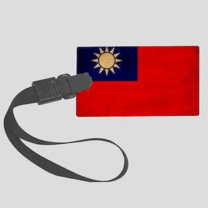 Taiwantex3tex3-paint Large Luggage Tag