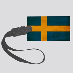 Swedentex3tex3-paint Large Luggage Tag