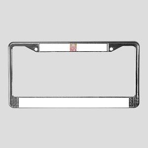 Iraq License Plate Frame