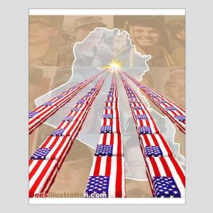 Iraq Small Poster