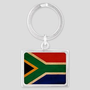 South Africatex3tex3-paint Landscape Keychain