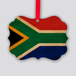 South Africatex3tex3-paint Picture Ornament