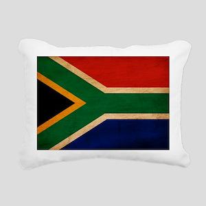 South Africatex3tex3-pai Rectangular Canvas Pillow