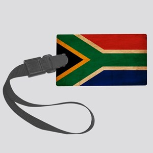 South Africatex3tex3-paint Large Luggage Tag