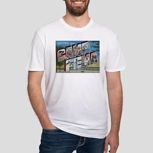 Camp FEMA Fitted T-Shirt