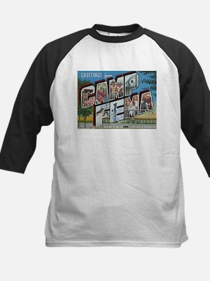 Camp FEMA Kids Baseball Jersey