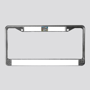Camp FEMA License Plate Frame